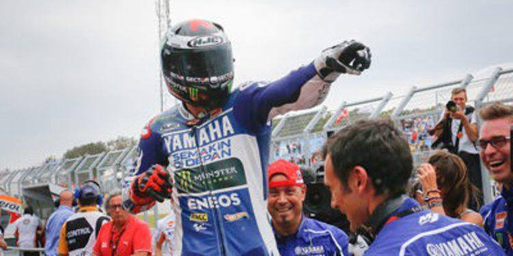 Jorge Lorenzo consiguió en Phillip Island su victoria 50