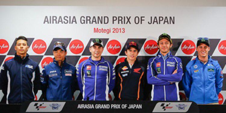 Rueda de prensa oficial del GP de Japón 2013 de MotoGP