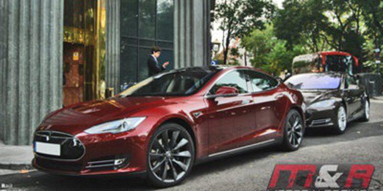 Este es el primer Tesla Model S matriculado en España