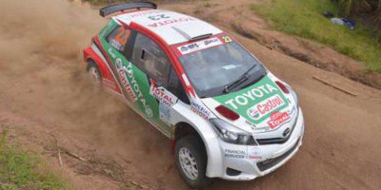 Toyota prueba su motor 1.6 sobre un Yaris S2000