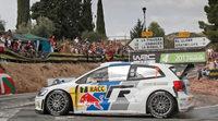 Jari-Matti Latvala y Dani Sordo pugnan por el Rally de Catalunya