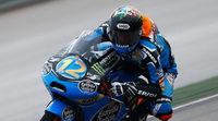 Alex Márquez gana en Moto3 en Japón. Salom y Rins se van al suelo