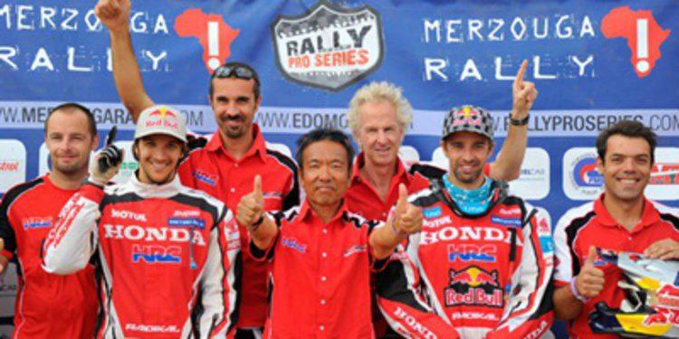 Sam Sunderland gana el Merzouga Rally para Honda