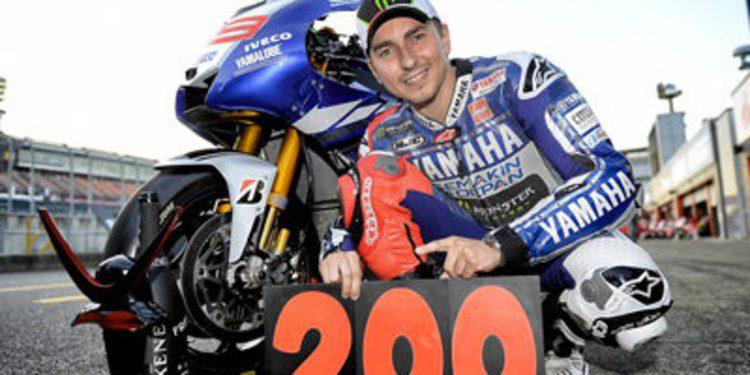 La victoria 200 de Yamaha en MotoGP fue de Jorge Lorenzo
