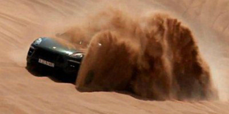 Porsche se va al desierto a probar el Macan