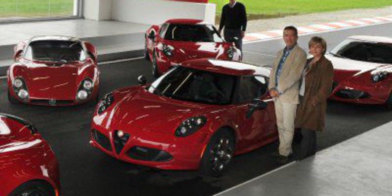 Los primeros Alfa Romeo 4C llegan a sus dueños