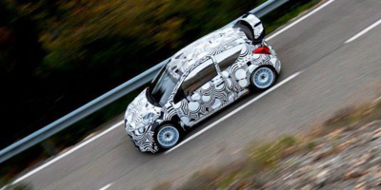 Hyundai Motorsport se prueba en los tramos del Rally de Catalunya