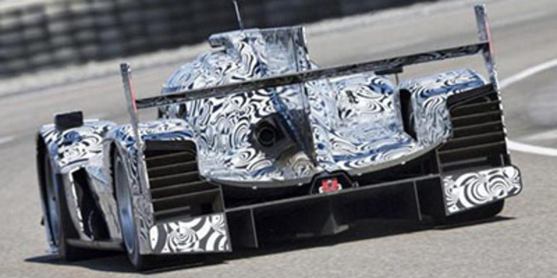 Brendon Hartley prueba el Porsche LMP1 en Monza
