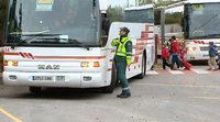 La DGT controla el transporte escolar estos días