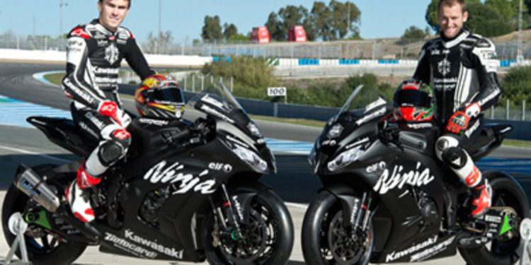 Nuevo test de varios equipos del Mundial de Superbikes en Jerez
