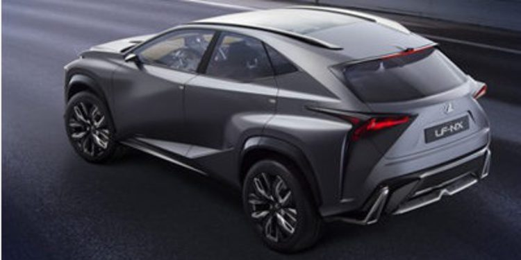 Lexus mejora y da otro toque al LF-NX para Tokio