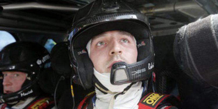 Robert Kubica cambia de copiloto en el Rally de Gales