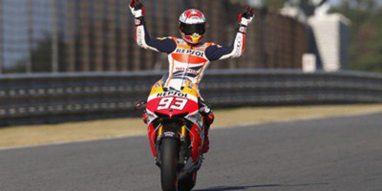 Valencia puede ser testigo del título de MotoGP de Marc Márquez