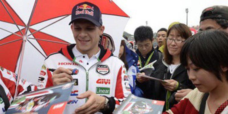 Stefan Bradl a por la última cita de MotoGP en Cheste