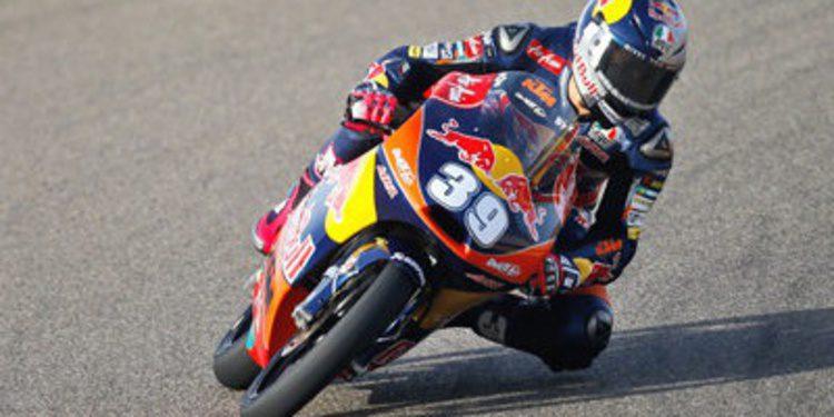 Luis Salom gana la partida en los FP1 de Moto3 en Cheste