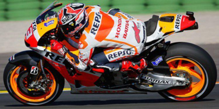 Marc Márquez y Honda imponen su ley en Valencia durante los FP2