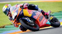 El cambio no frena a Salom en el FP3 de Moto3 en Cheste