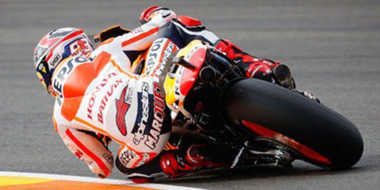 Marc Márquez con récord de Cheste en los FP3 de MotoGP