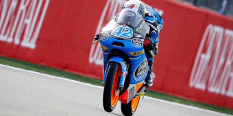 Alex Rins pole de Moto3 en el GP de Valencia