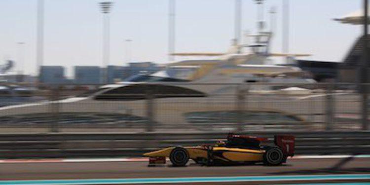 Vandoorne domina la última jornada de test de GP2 en Abu Dhabi