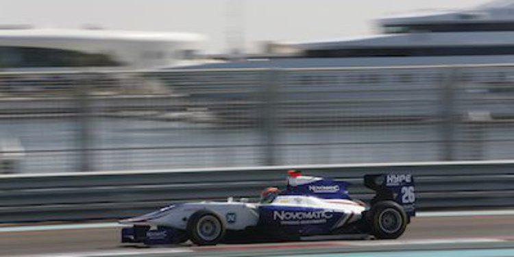 Dean Stoneman domina la primera jornada de test de GP3 en Abu Dhabi