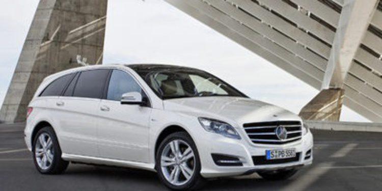 Mercedes-Benz nos sorprenderá con el Clase R