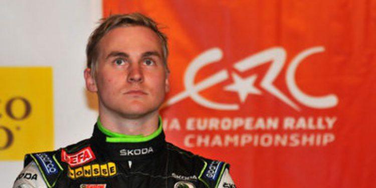 Esapekka Lappi gana el Rally du Valais del ERC