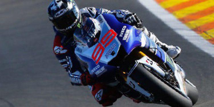 "Jorge ""ritmo"" Lorenzo en el warm up MotoGP en Cheste"