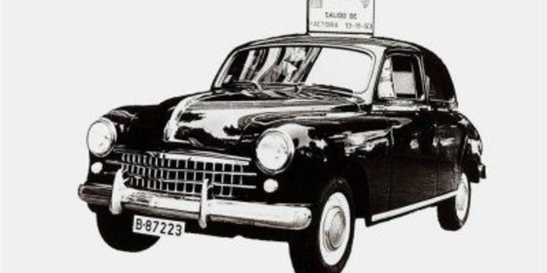 SEAT celebra hoy el 60 aniversario de la fabricación de su primer coche