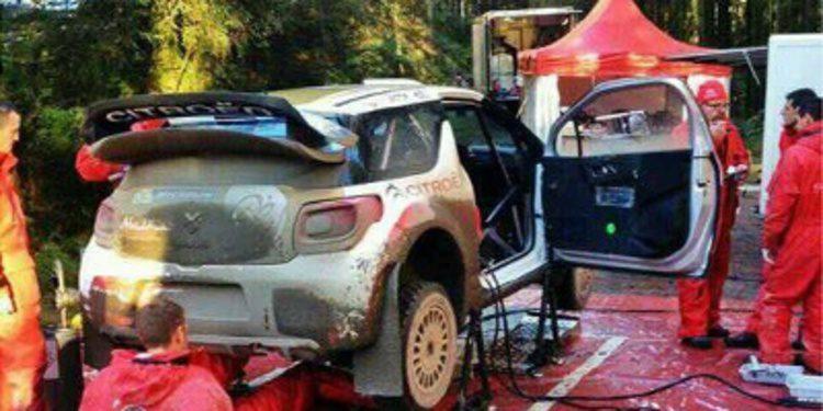 Robert Kubica debuta en el Citroën DS3 WRC en un test