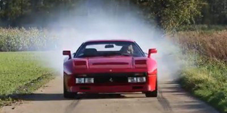 Un Ferrari 288 GTO de Rally