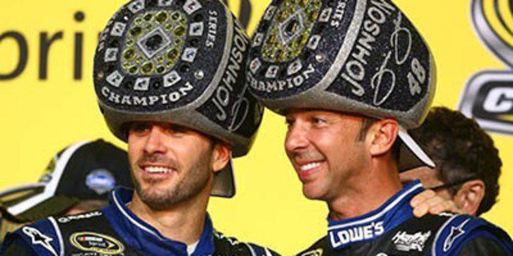 Jimmie Johnson ya tiene su sexto título de la NASCAR