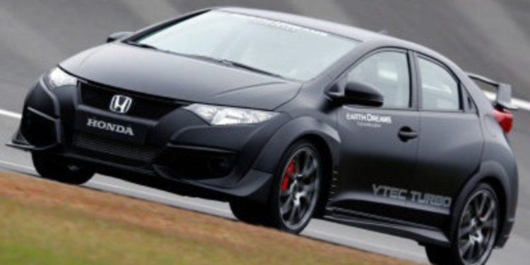 Honda presenta el Civic Type R encubierto