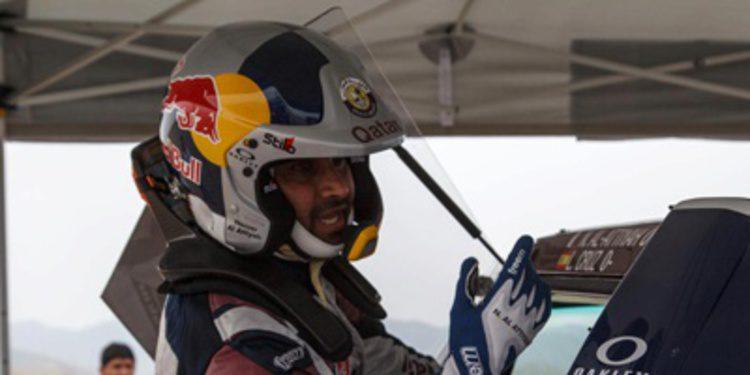 Nasser Al-Attiyah en el Dakar 2014 con X-Raid y Mini