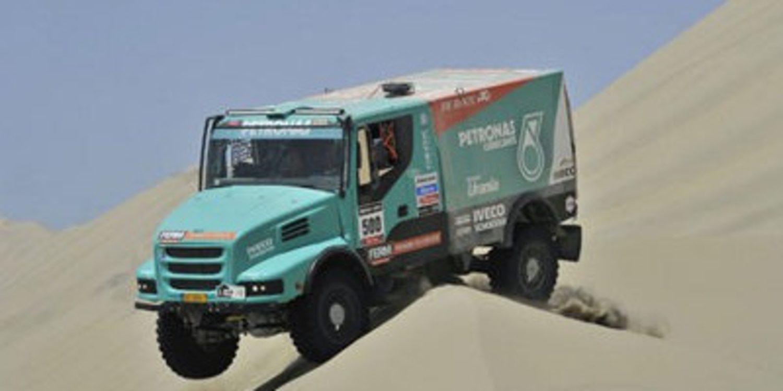 Lista de inscritos del Dakar 2014 en camiones
