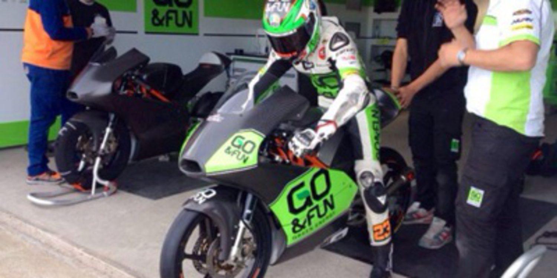 Test en Almería para KTM Ajo y otros equipos de Moto3