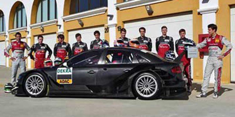 Audi prueba a ocho jóvenes para el DTM