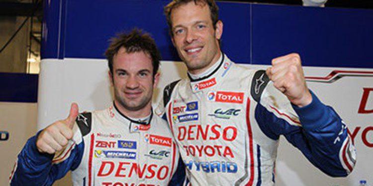 Declaraciones de los miembros del equipo Toyota antes de Bahréin