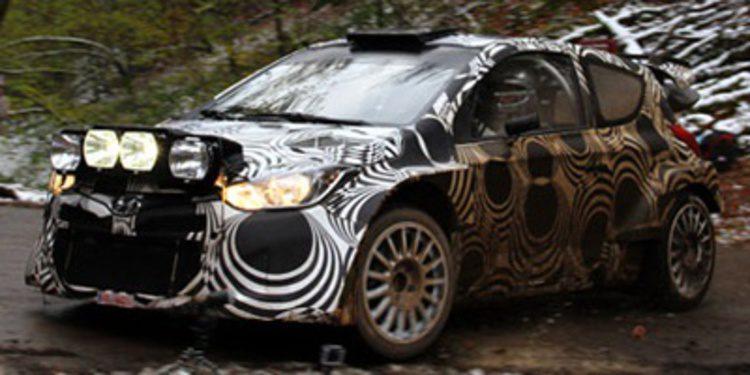 El primer test de Thierry Neuville con Hyundai