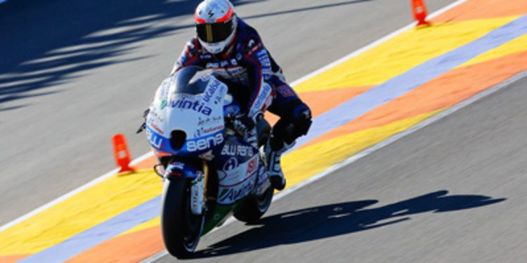 Mike di Meglio con Avintia Blusens MotoGP en 2014