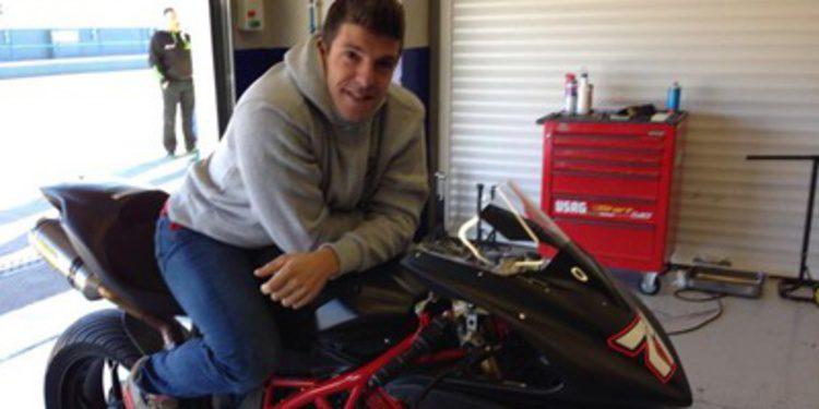 MV Agusta con Claudio Corti en el Mundial de Superbikes