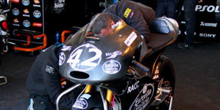 La nueva Honda de Moto3 debuta en Almería