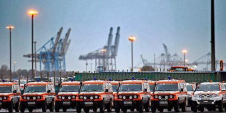 La primera odisea del Dakar 2014 llega todavía en Europa