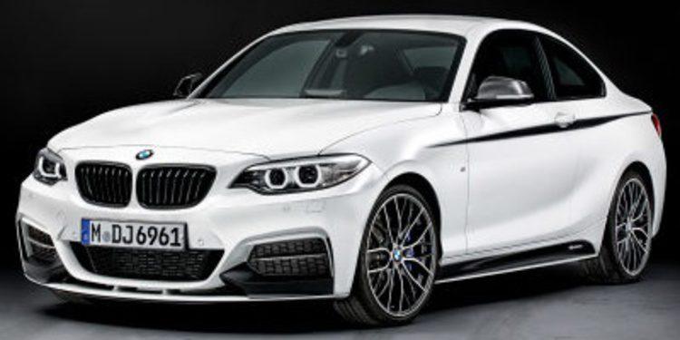 BMW M Performance ofrece kit de mejoras para la Serie 2