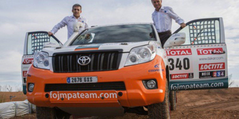 Xavier Foj preparado para su vigesimocuarto Dakar