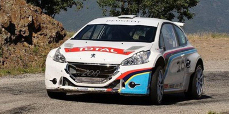 Peugeot Sport tendrá equipo de fábrica en el ERC 2014