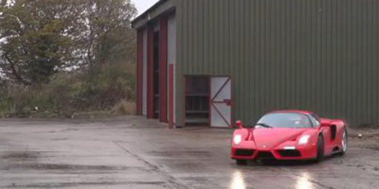 TaxTheRich y su Ferrari Enzo en slow motion