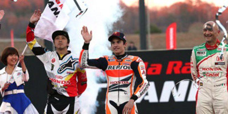 """Marc Márquez cierra el año en el """"Thanks Day"""" de Honda en Motegi"""