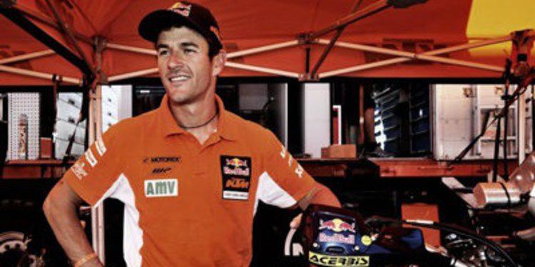 Marc Coma prepara el Dakar 2014 en Marruecos