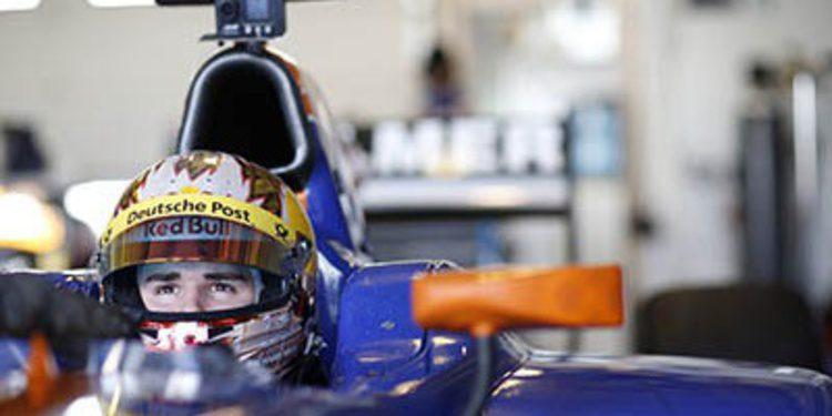 Daniel Abt en Hilmer Motorsport para la GP2 de 2014